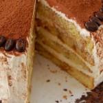 Tiramisu torta sa piškotama