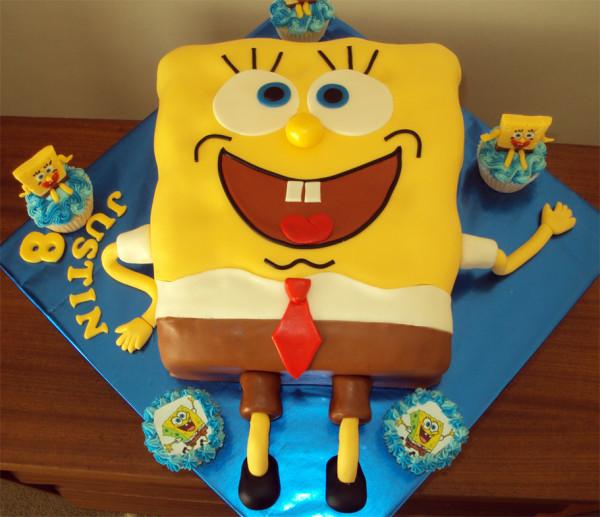 Sunđer Bob torta